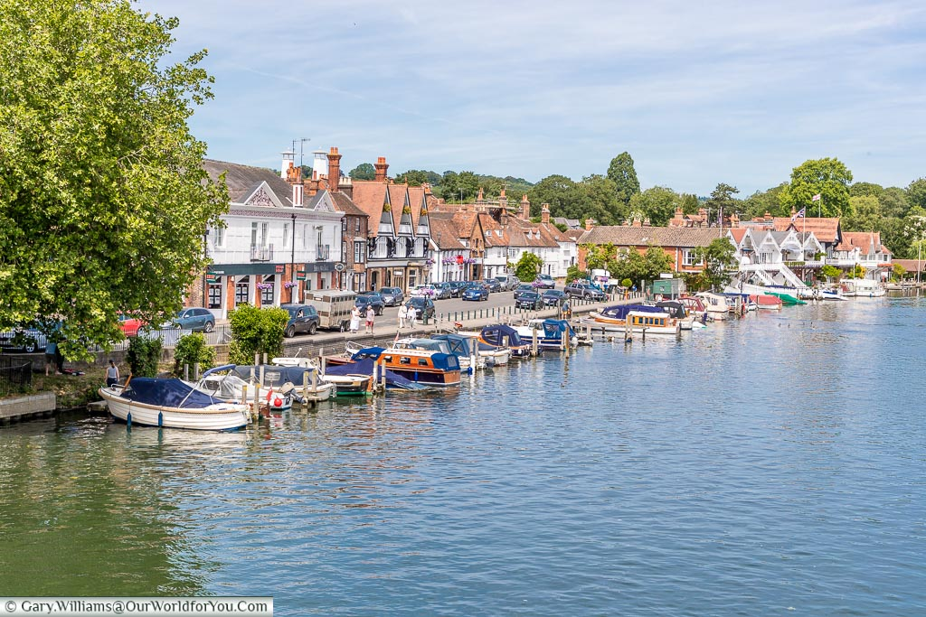 The waterfront, Henley-on-Thames, England