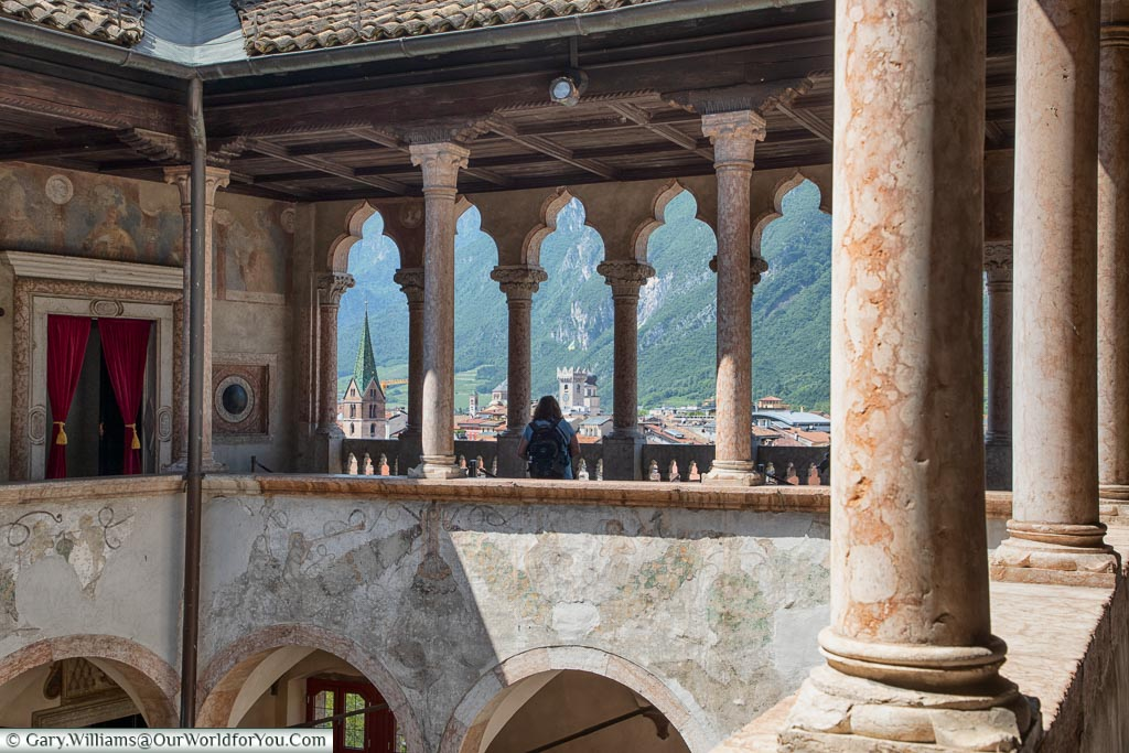 Inside the Castle, Visit Trento, Trentino, Italy