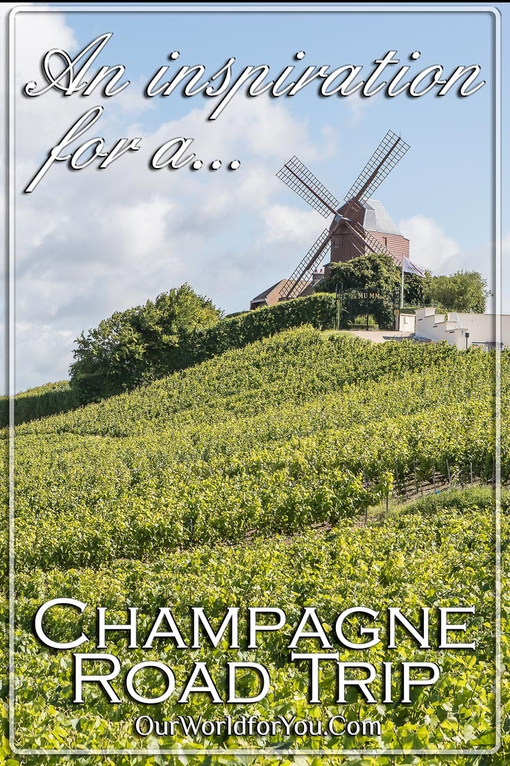 What inspired us to visit Champagne, France