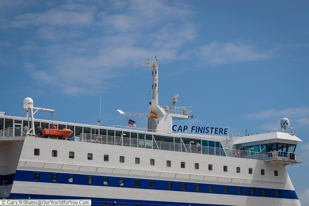 Cap Finistere, Brittany Ferries, Tour of Spain