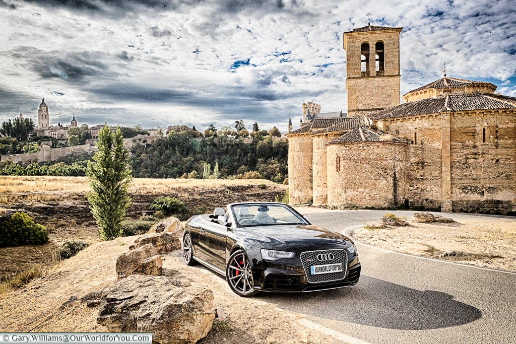 The Audi RS5, our chariot for the 2016 Spanish road trip.