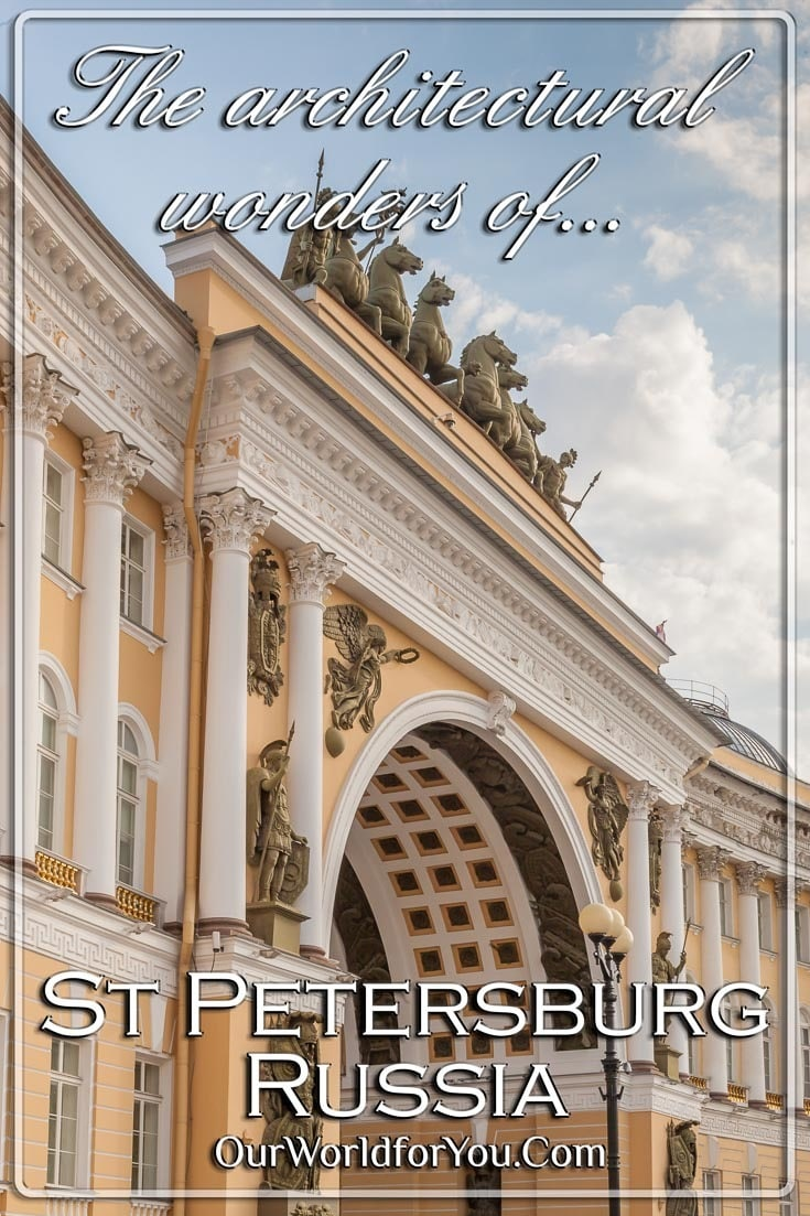The Architectural wonders of St Petersburg - Pinterest