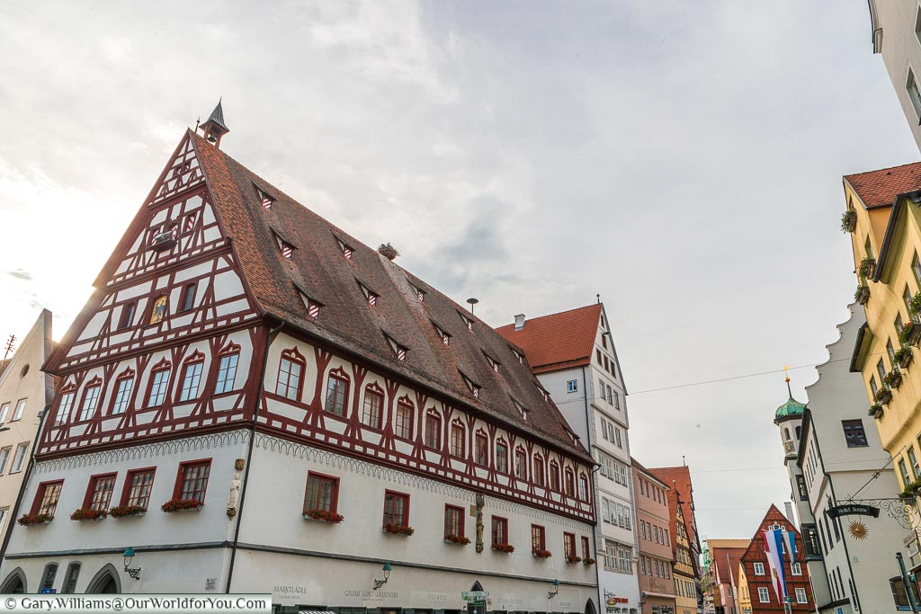 The trading hall, a large 15th-century building in the centre of the town.