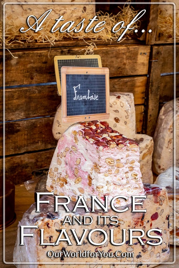 The Pin image from out post -'France and its flavours '