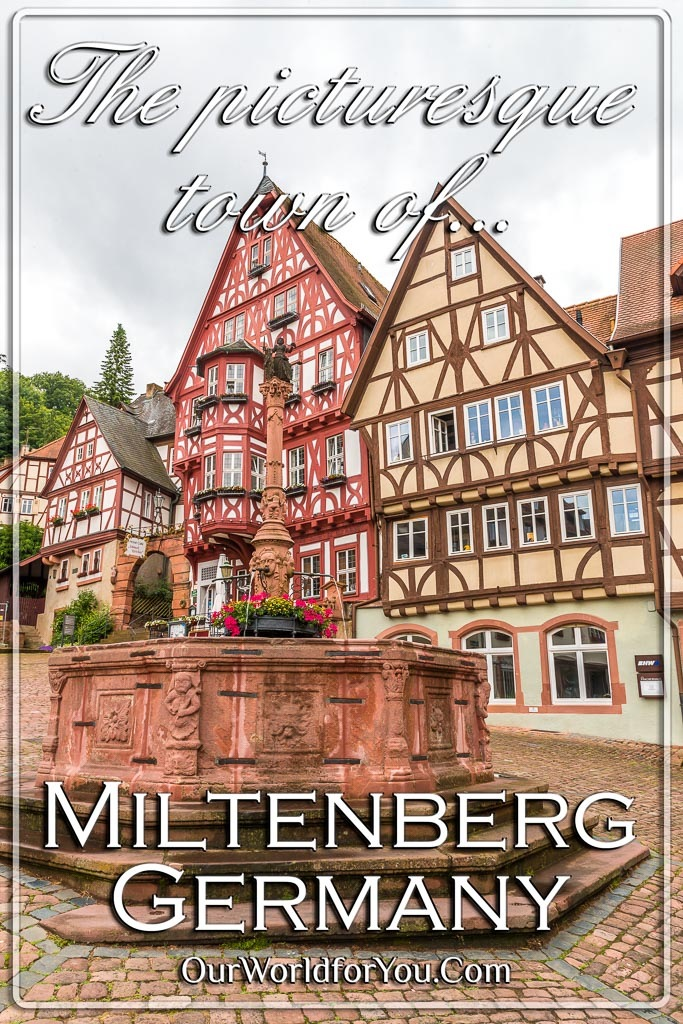 The pin image of our post 'The picturesque town of Miltenberg in Bavaria, Germany'