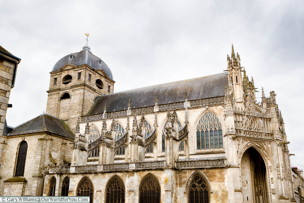 The Cathedral, Alençon, Normandy, France