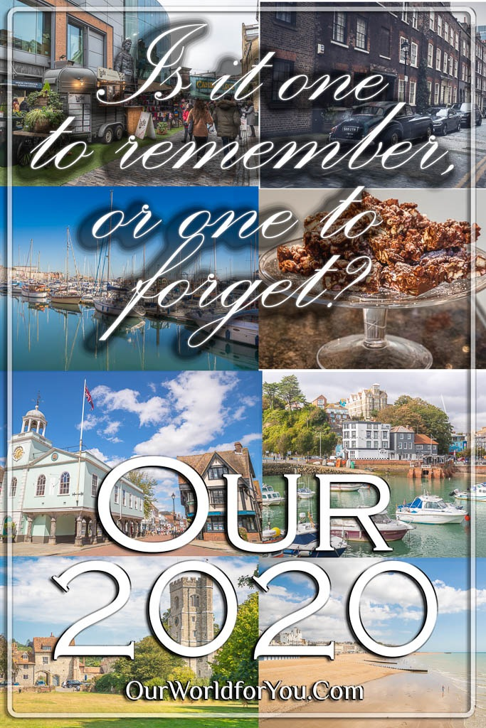 The Pin image for our post - 'Our 2020, is it one to remember, or one to forget?'