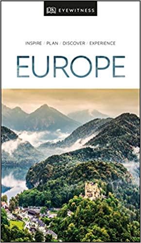 DK Eyewitness Europe Cover