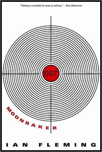 The cover to the original Moonraker book