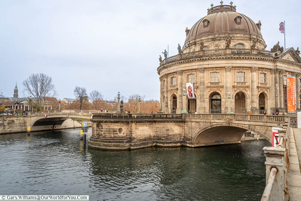 The Bode Museum at the tip of Museum Island in Berlin