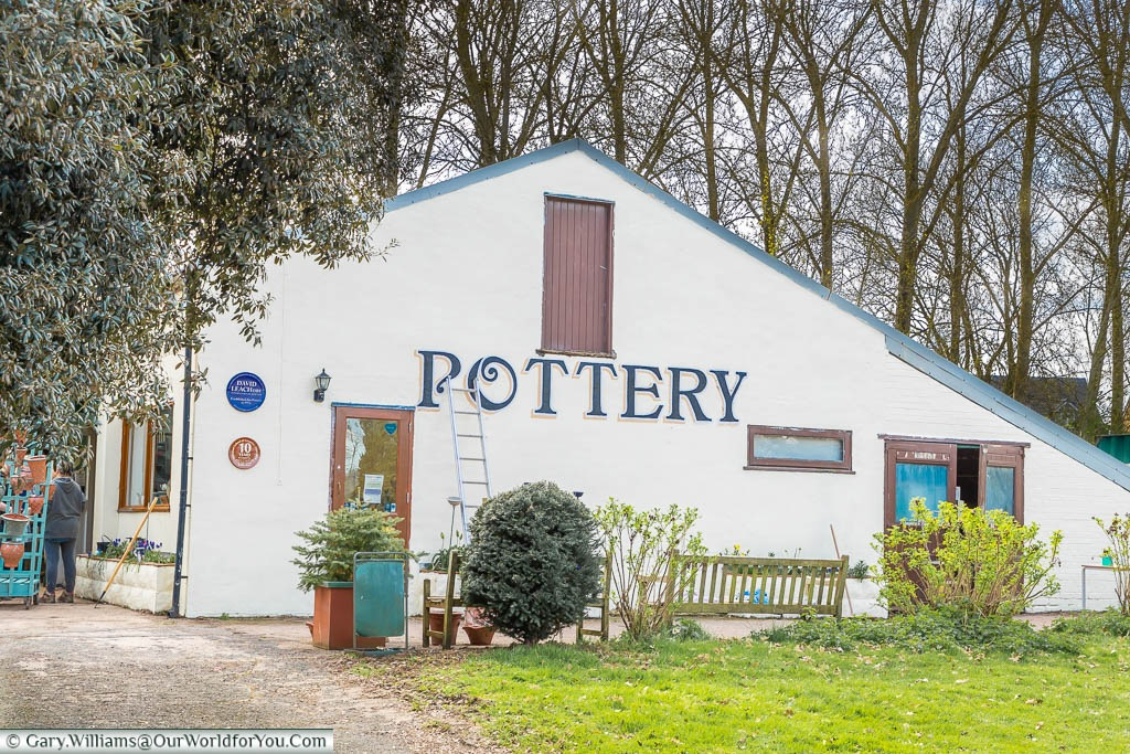 The Pottery building in Aylesford Priory