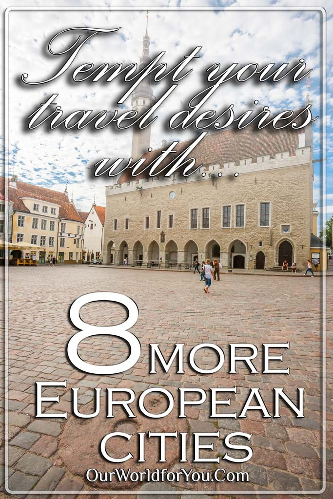 the Pin image for our post - '8 Stunning European cities to encourage you to grab your passport'