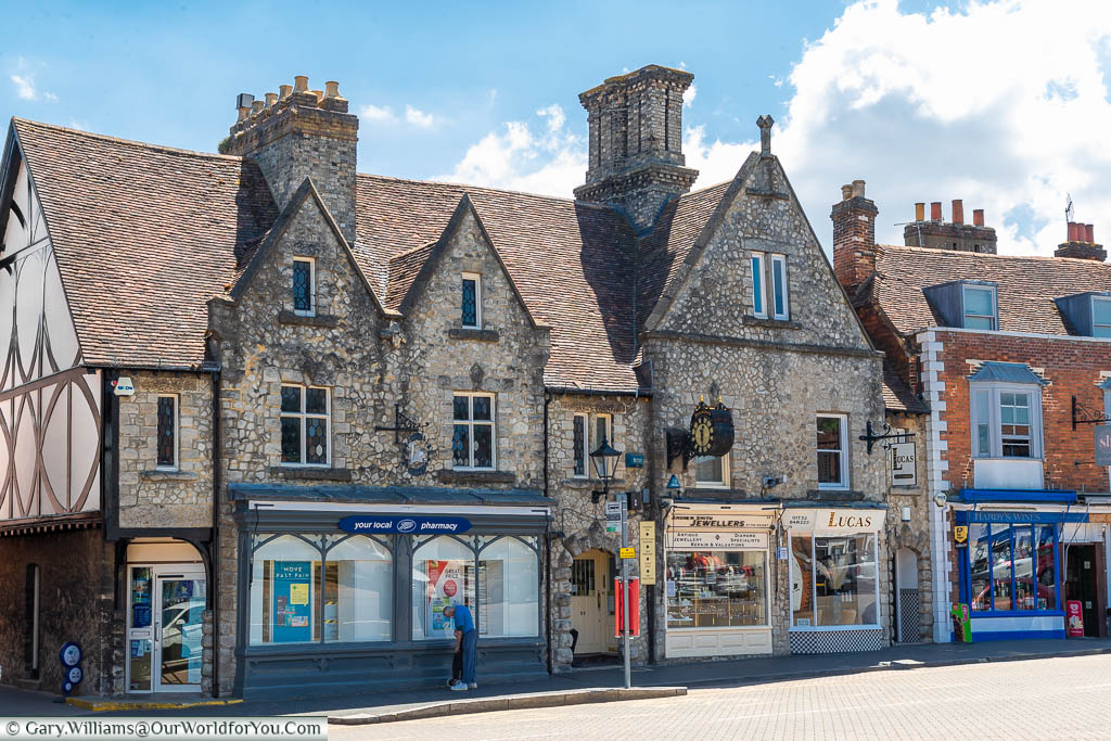 A look at a few shops on West Malling High Street set in beautiful historic buildings