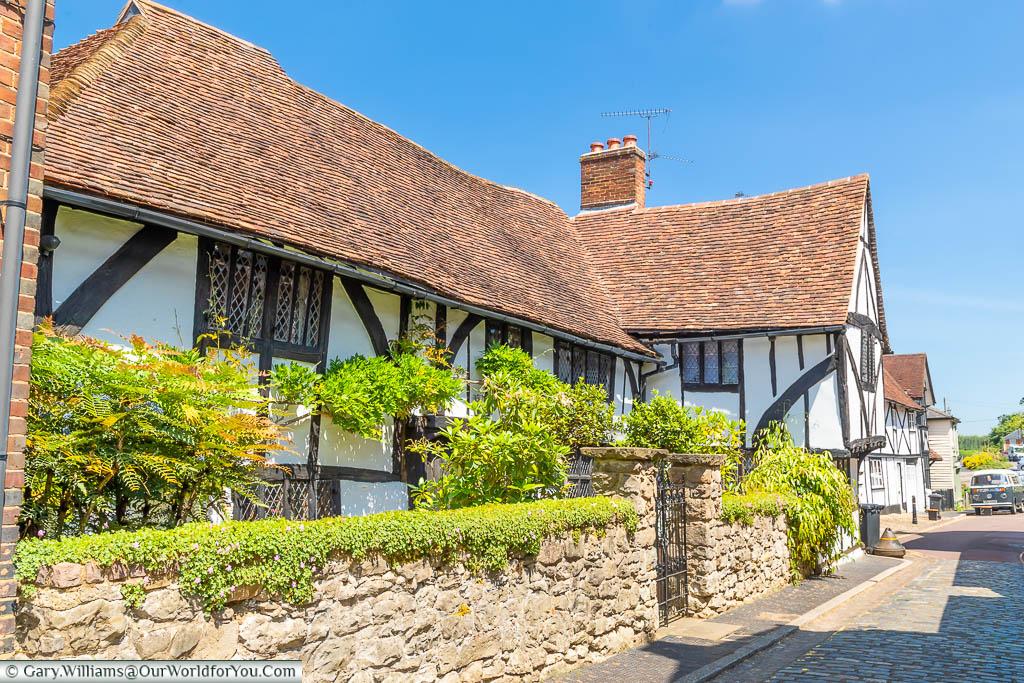 A Tudor period timber-framed home in King Street, West Malling, Kent