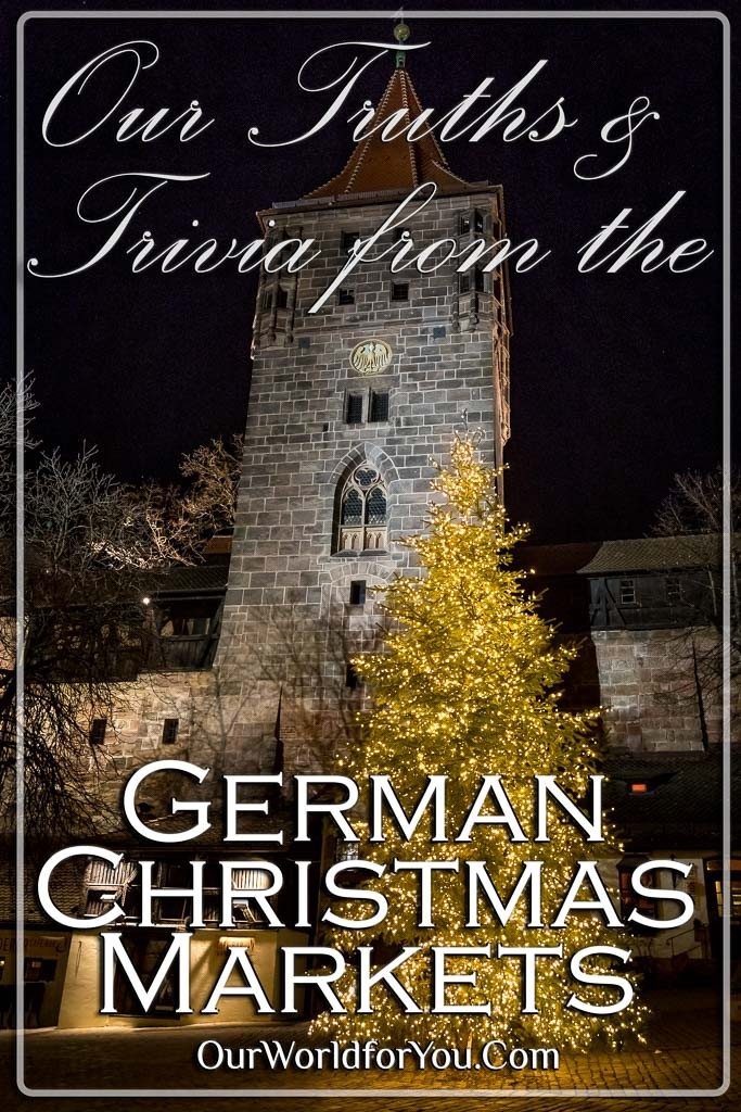 The pin image from our post - 'Our Truths & Trivia from the German Christmas Markets'