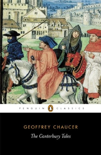 The cover to Geoffrey Chaucer's The Canterbury Tales