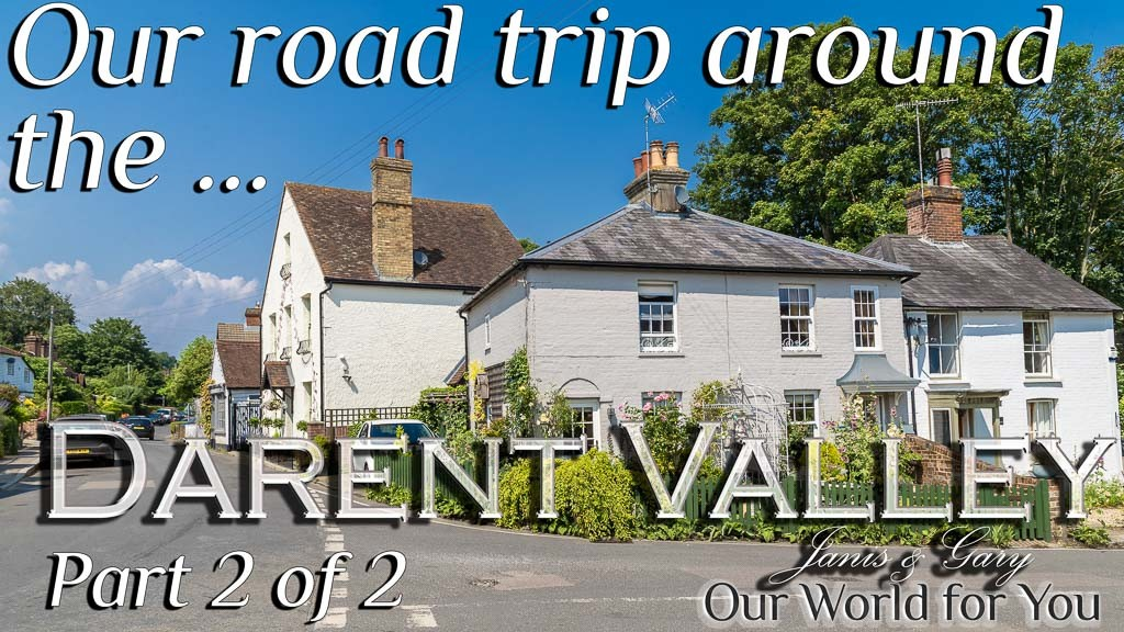 The Thumbnail of our video - ' Darent Valley Road Trip Part 2 '