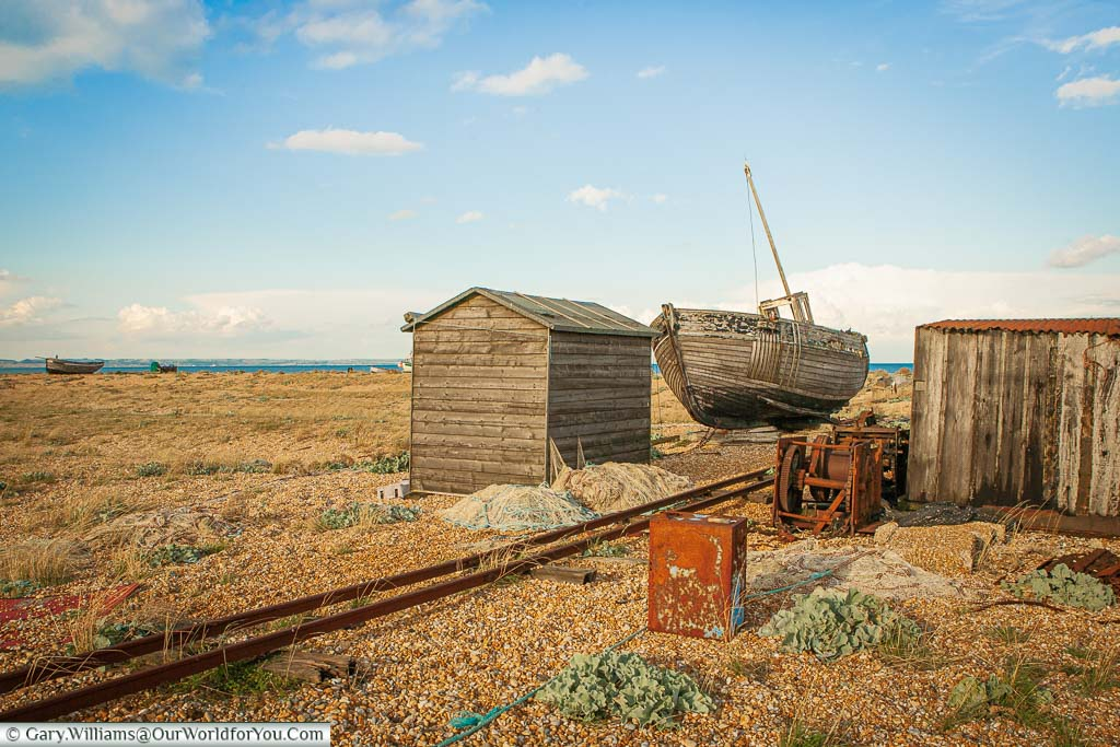 """Featured image for """"Dungeness, a rustic courtyard into Kent's 'Garden of England'"""""""