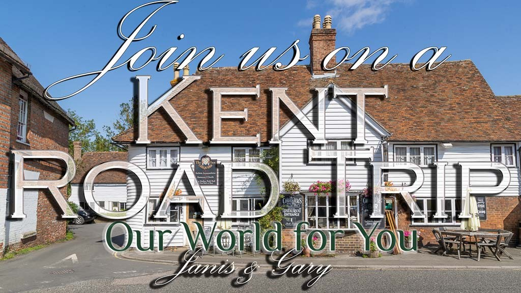 The Thumbnail of our video - ' Join us on a Kent Road Trip '