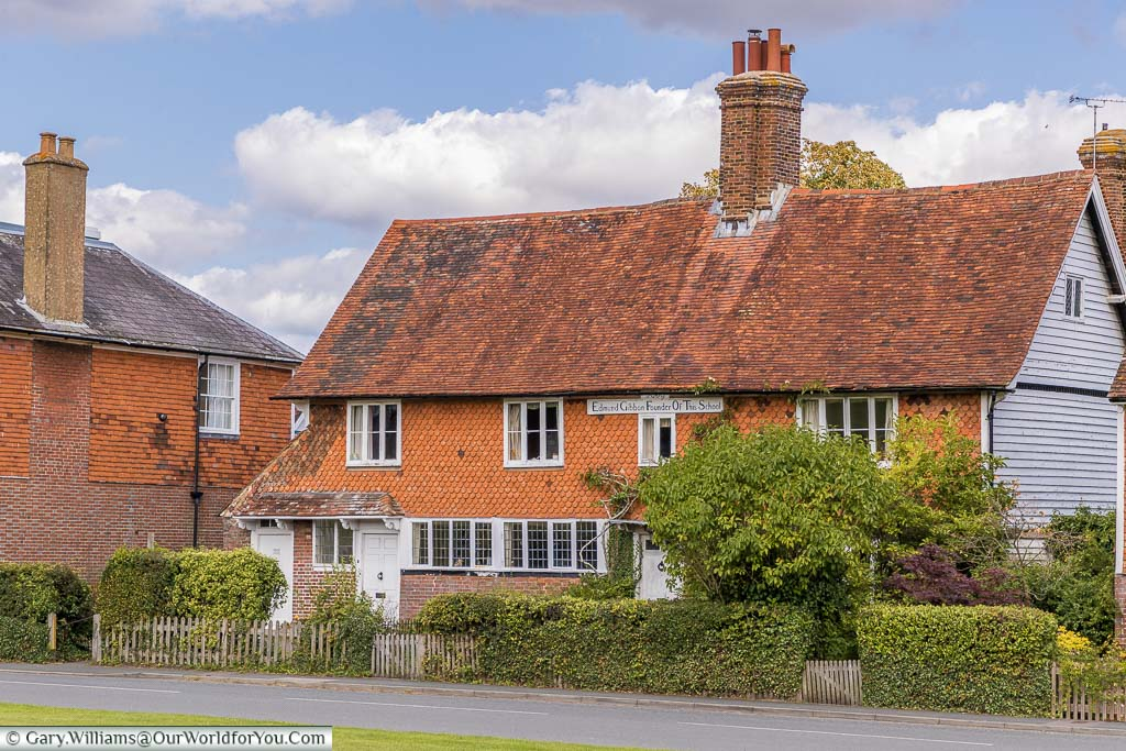 A historic home that was once the old school in Beneden , Kent