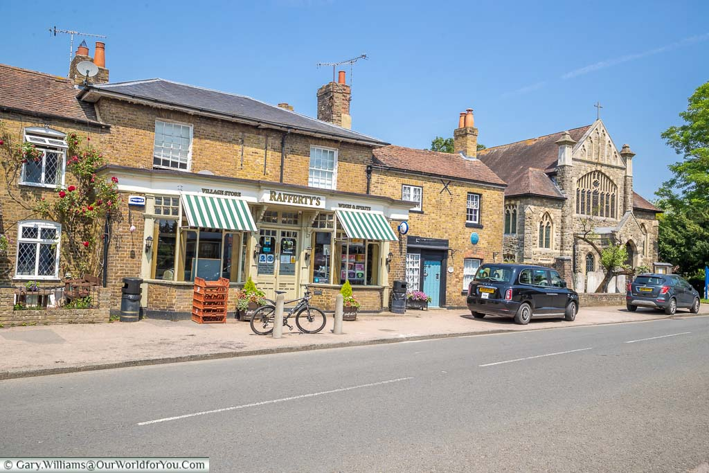 The traditional Rafferty's Village Store on Eynsford's High Street
