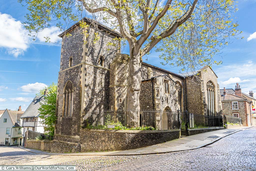 The church of St. Peter Hungate in the Tombland district of Norwich