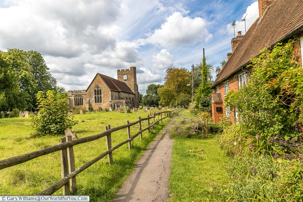 """Featured image for """"The village of Headcorn in Kent, England"""""""