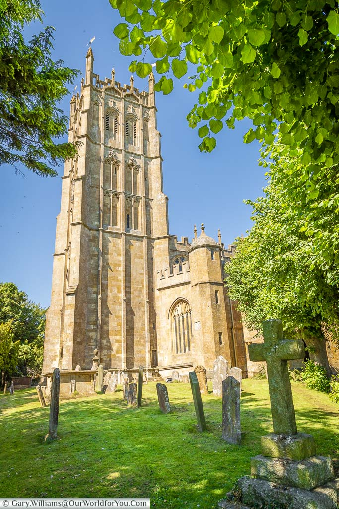 St James' Church of Chipping Campden in the Cotswolds
