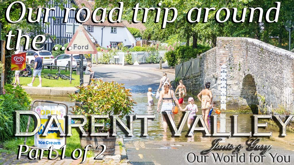 The Thumbnail of our video - ' Darent Valley Road Trip Part 1 '