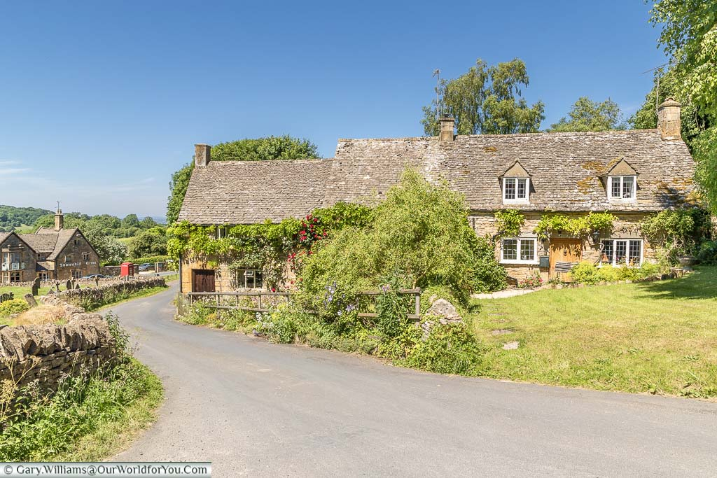 The pretty homes in the Cotswold hamlet of Snowshill