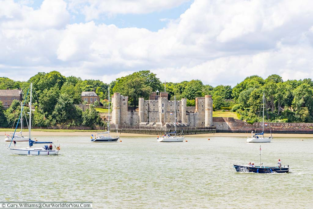 """Featured image for """"Our Visit to Upnor Castle, Kent, England"""""""