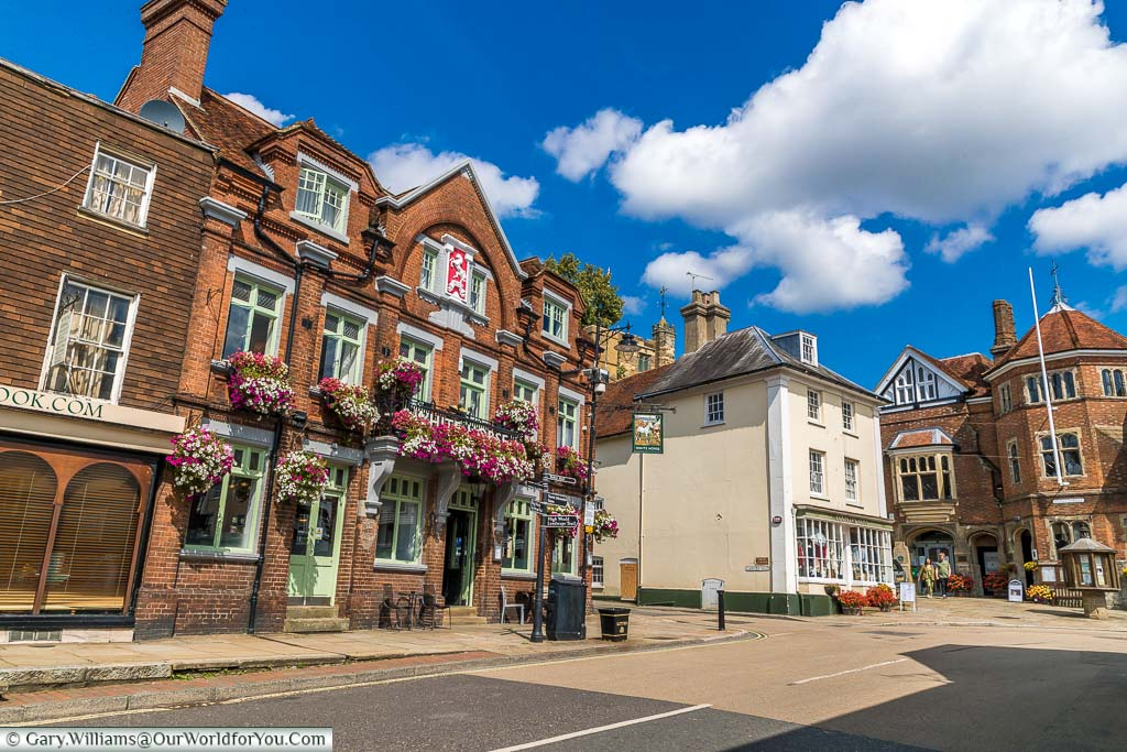 """Featured image for """"The historic market town of Cranbrook in Kent, England"""""""