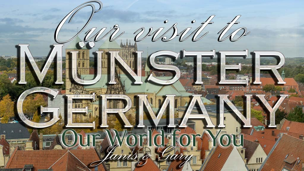 The Thumbnail of our video - ' Our visit to Münster in Germany'