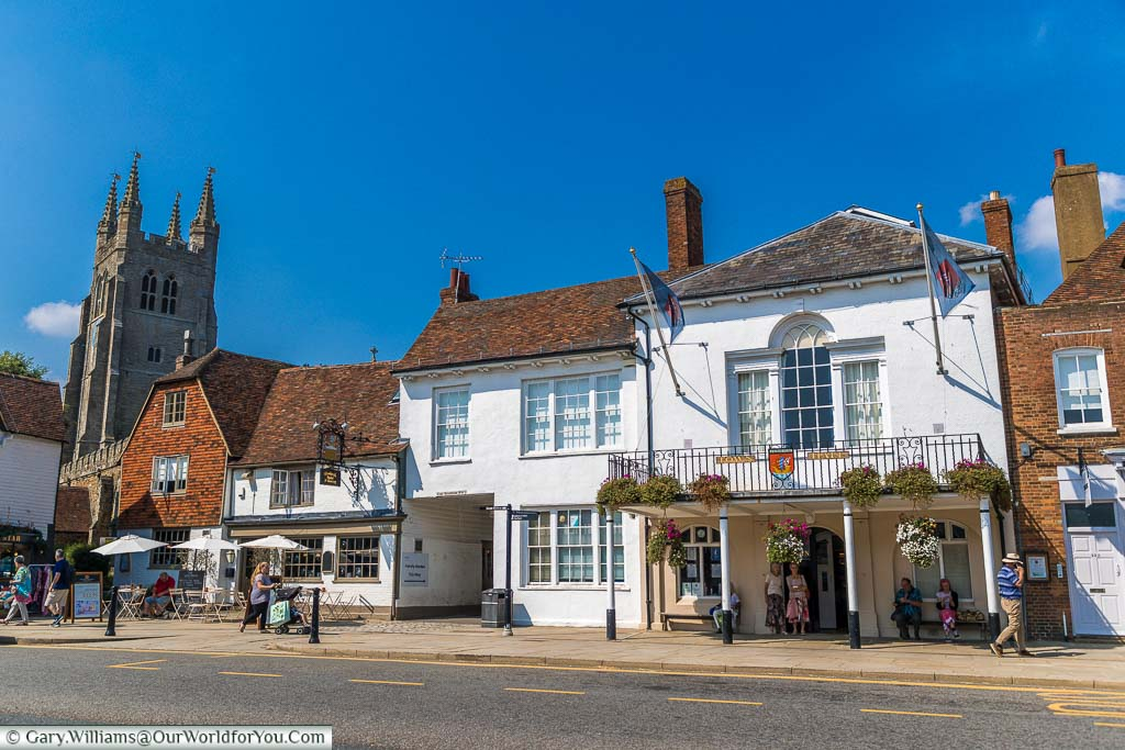 """Featured image for """"The quaint town of Tenterden in Kent, England"""""""