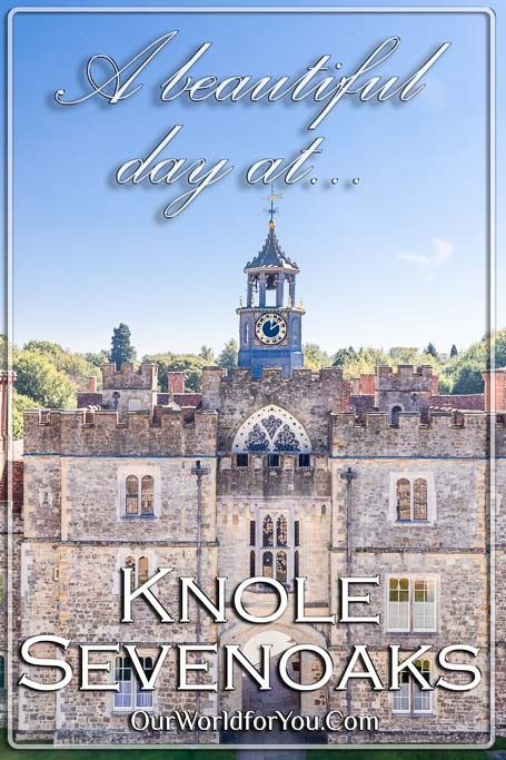 The pin image for our post - 'A beautiful day at Knole Park in Sevenoaks'